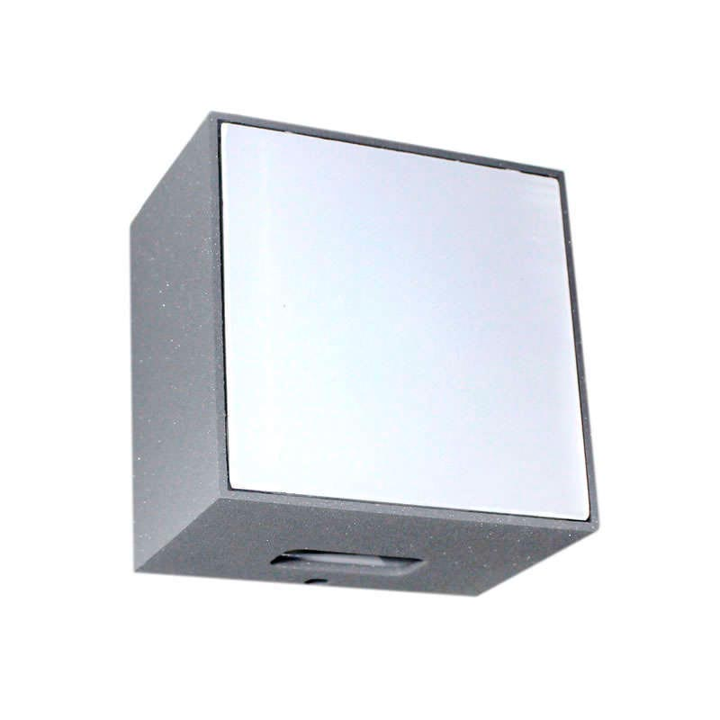 CUBE FRONT Silver