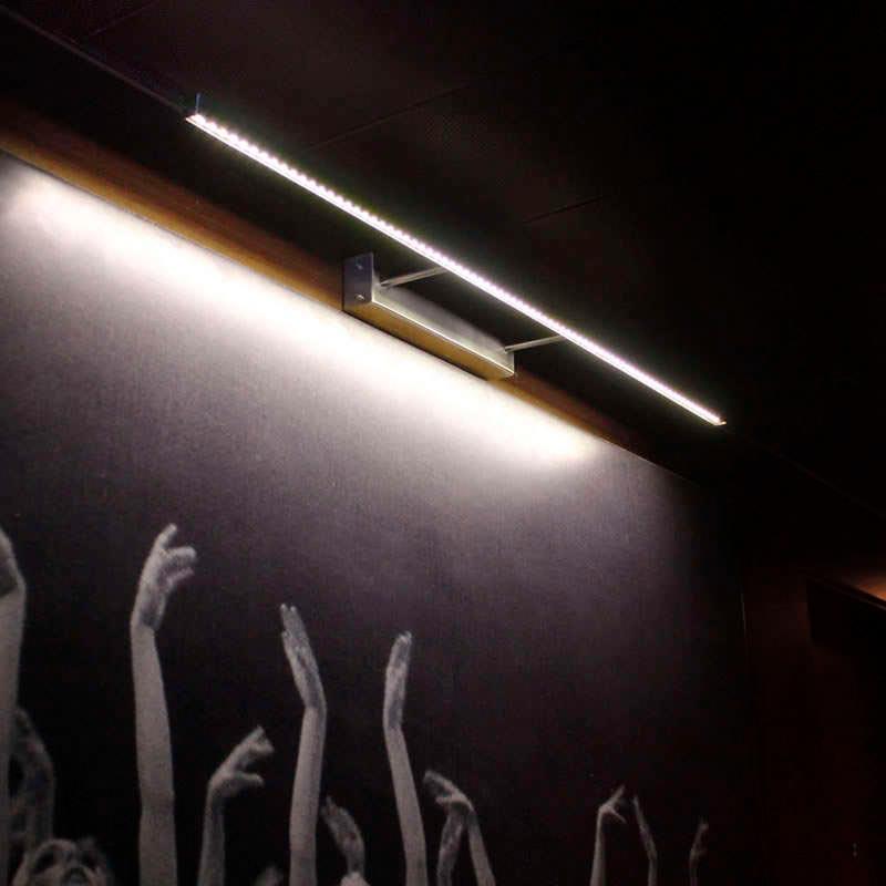 Led wall light NAXOS TABLE, 165cm, 30W