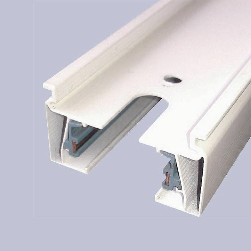 Rail pour spots led (Track rail), 1m, blanche