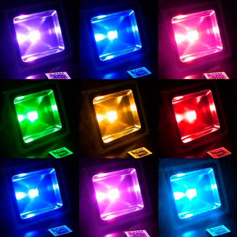 Proyector Led de exterior MICROLED, 20W, RGB