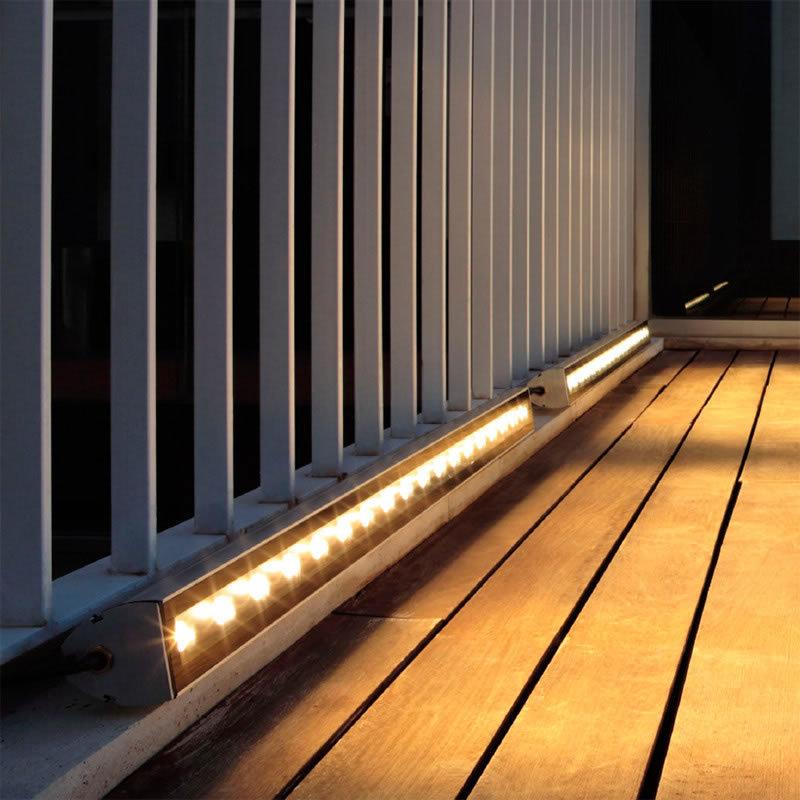 Proyector led lineal 24w 220v 1m iluminaci n exterior - Iluminacion exterior led ...