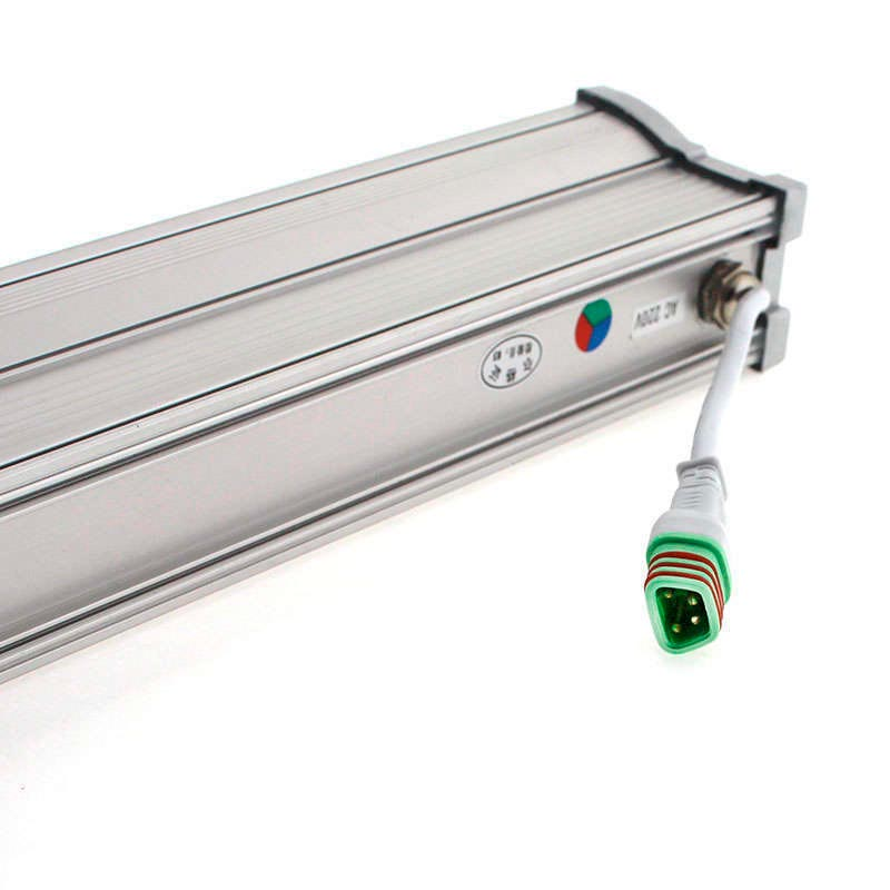Proyector LED lineal, RGB-DMX512, 36W, 220V, 1m