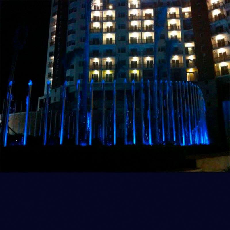 Foco sumergible FOUNTAIN LED, 18W, RGB