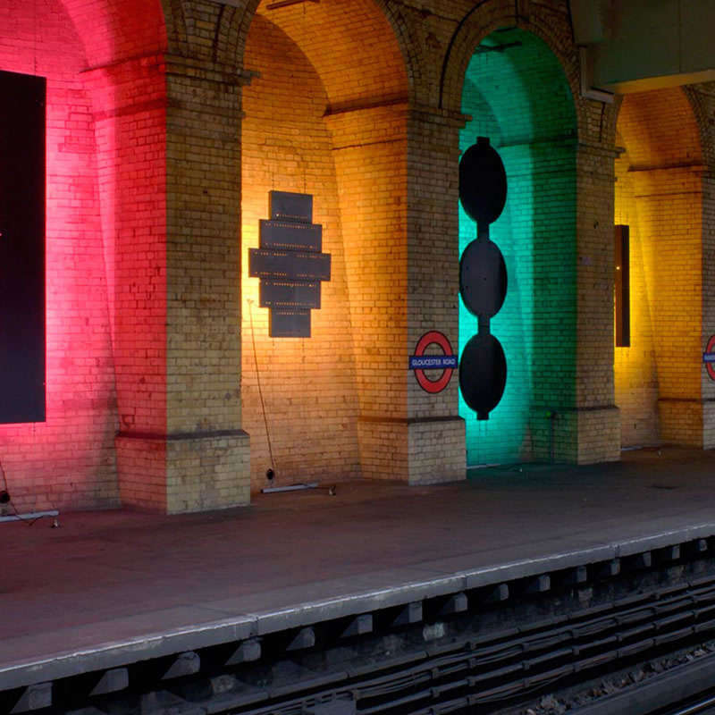 Proyector Led SLIM RGB, 20W