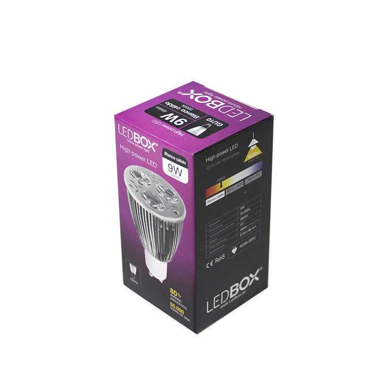 Ampoule GU10 LED, 9W, Réglable