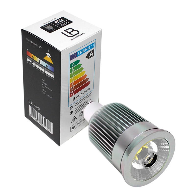 GU10 LED lamp GU10-COB, 7W