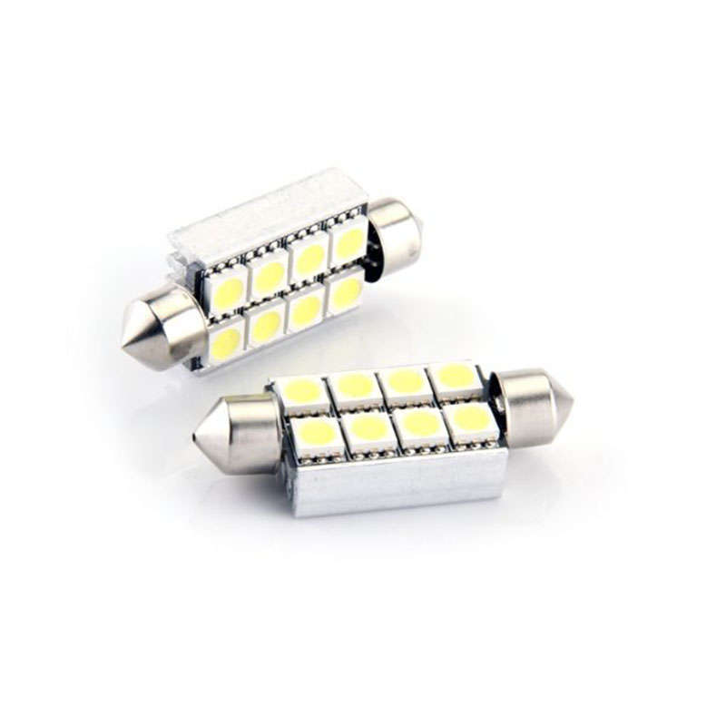 Festoon Dome 6pcs 5050SMD,  42mm