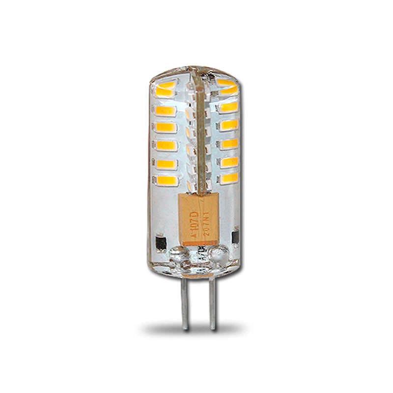 Bombilla Led G4-AC12V, 64xSMD3014, 3W, 360º