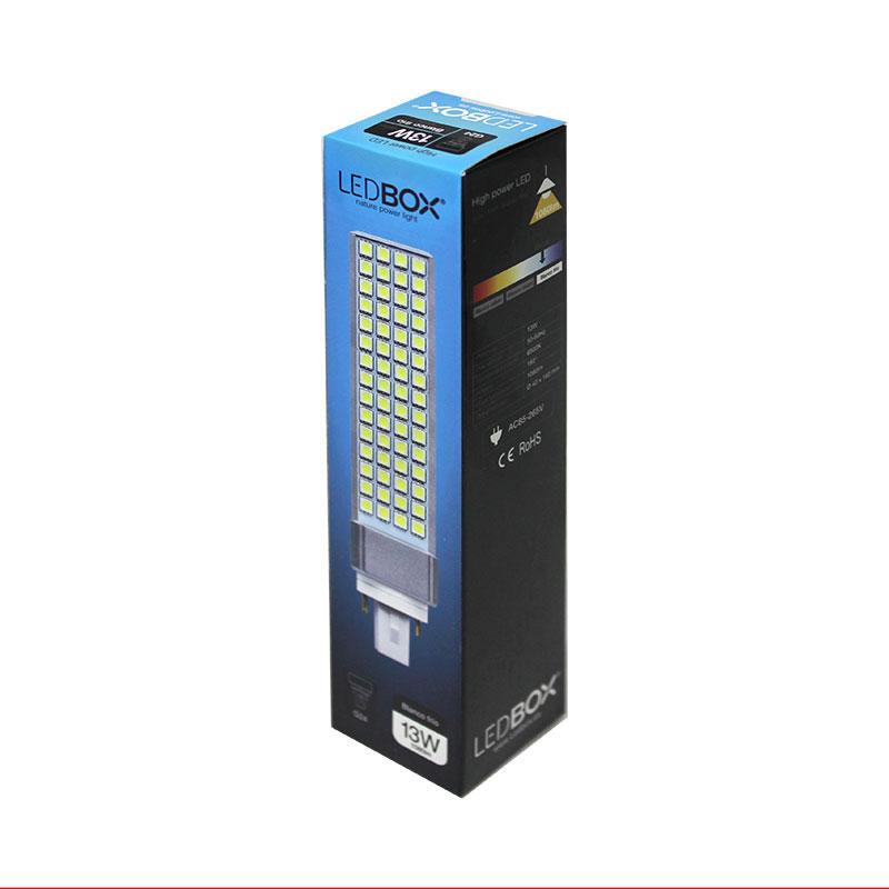 Bombilla led g24 2 pin 13w bombillas led bombillas for Bombilla led g24 2 pin