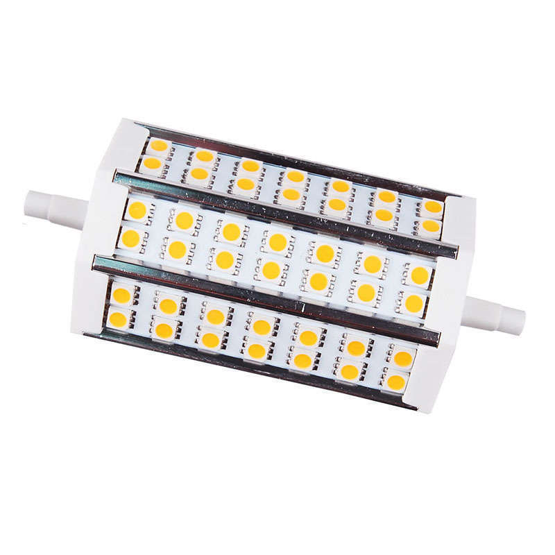 Bombilla LED R7S, 9W, 42xSMD5050, 118mm