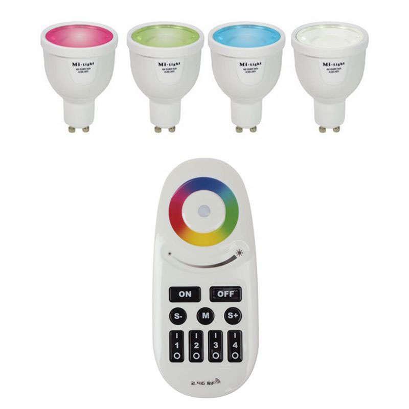 Bombilla led WiFi GU10 Bulb 4W RGB+Blanco frío