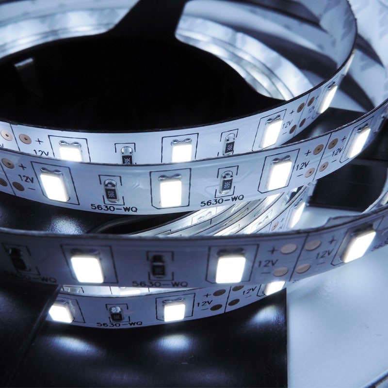 Tira LED BASIC SMD5630, DC12V, 5m (60Led/m) - IP65