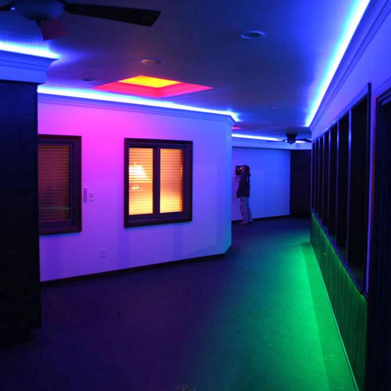 Bande LED IP68 extérieur SMD5050, RGB, 5m (60 Led/m),  RGB