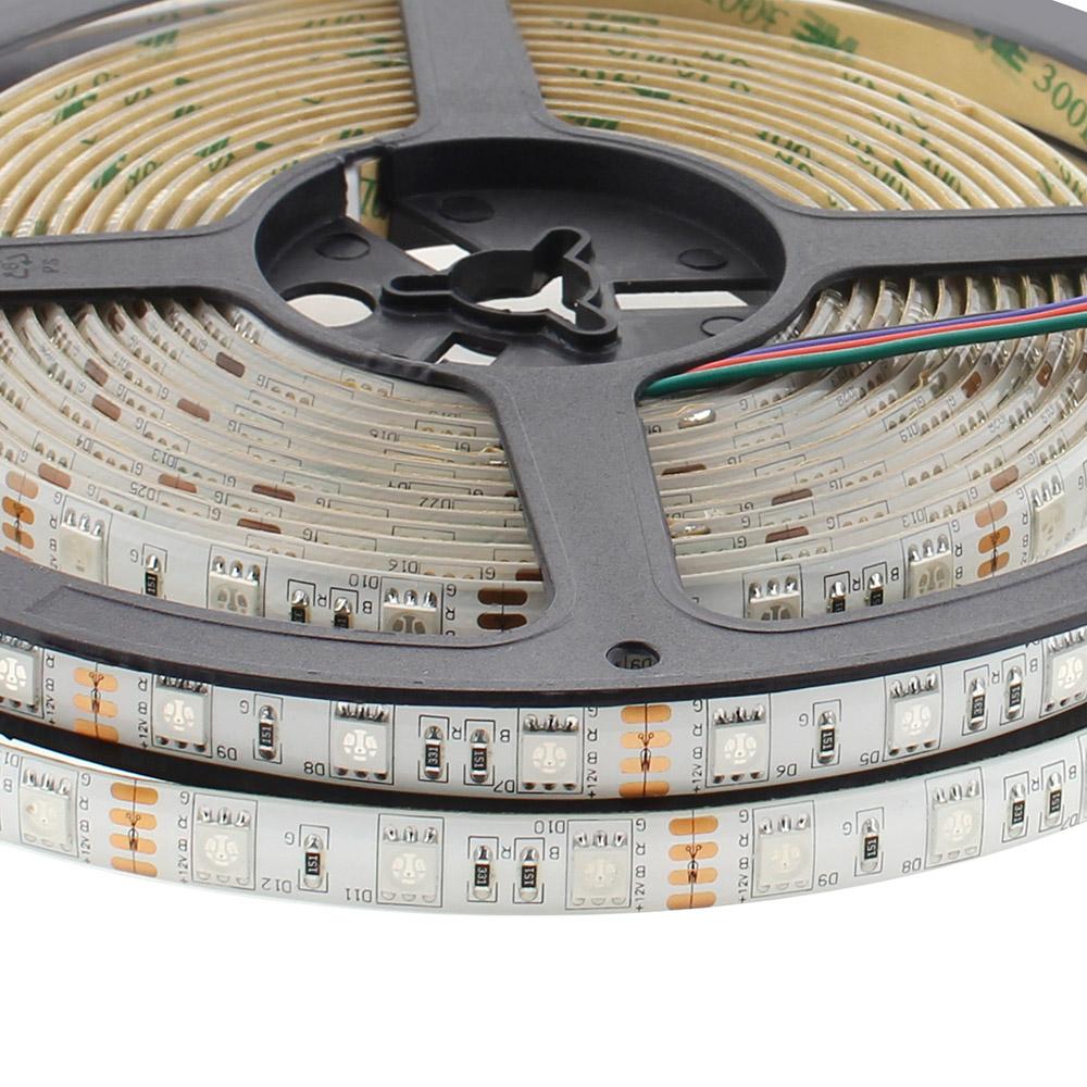 KIT Led Strip Flex SMD5050, 5m (60Led/m), RGB - IP65