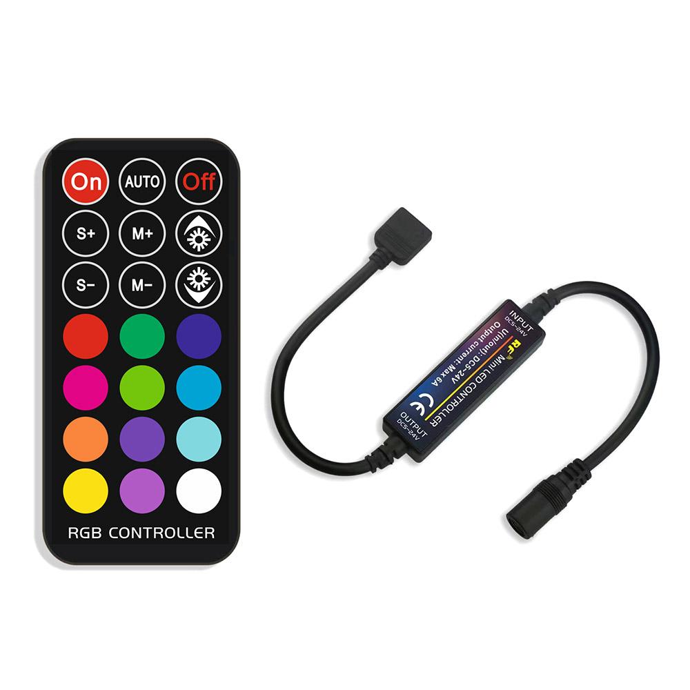 KIT tira LED flexible SMD5050, 5m (60 Led/m), RGB - IP65