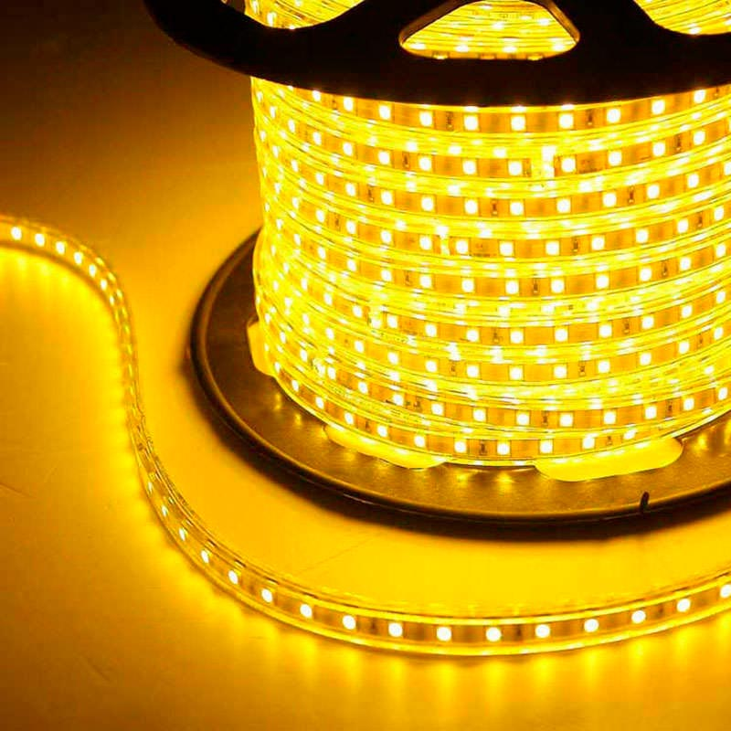 Bande à LED 220V SMD5050 High Power, RGB, 1m (60Led/m)