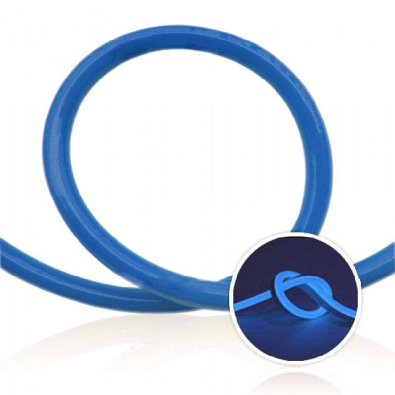Led NEON Flex, 220V, 100Led/m, 1m, azul