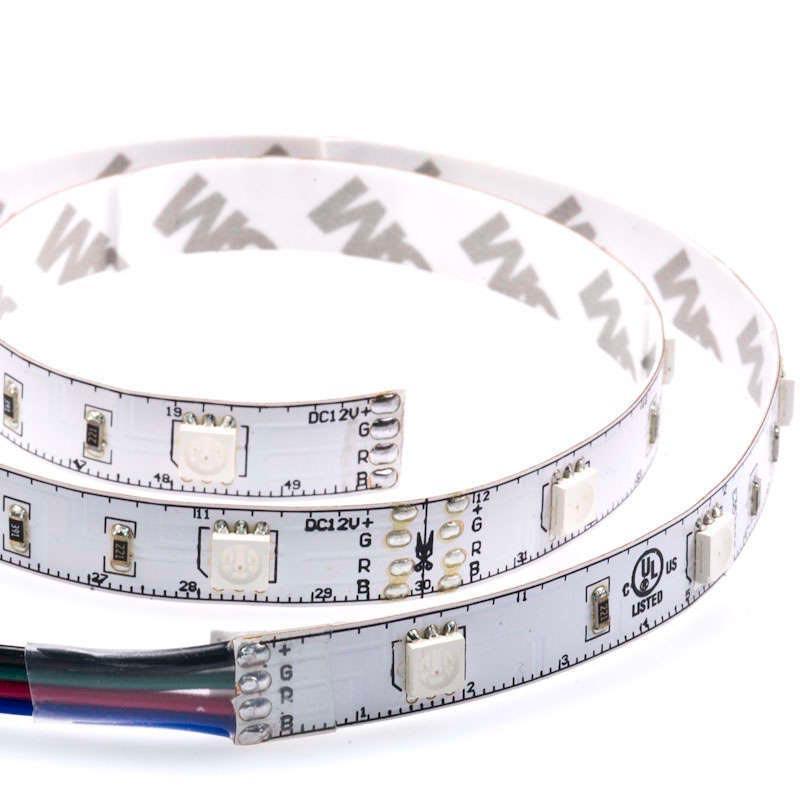 Tira LED EPISTAR SMD5050, RGB, DC24V CC, 5m (60Led/m) - IP20