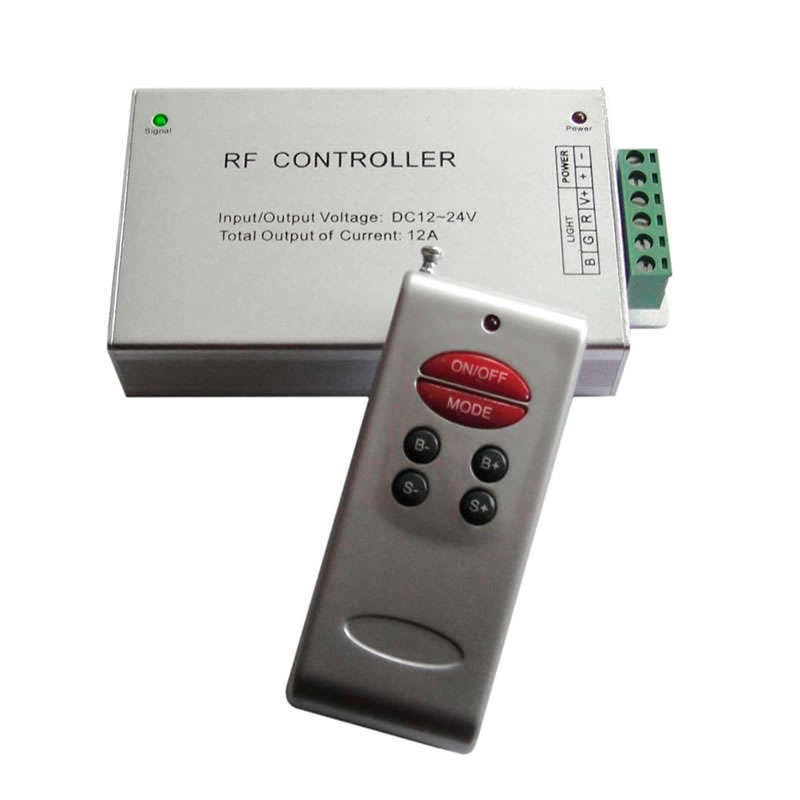 7M DUAL WHITE strip controller. RF remote-controlled Dimmer