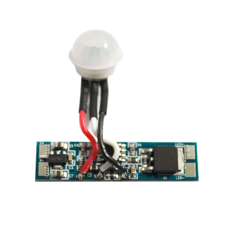 Sensor PIR de movimiento RAIL