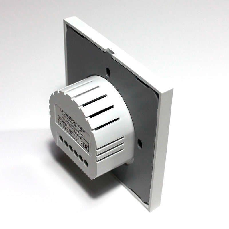 Controlador Monocolor táctil empotrable + mando a distancia RF