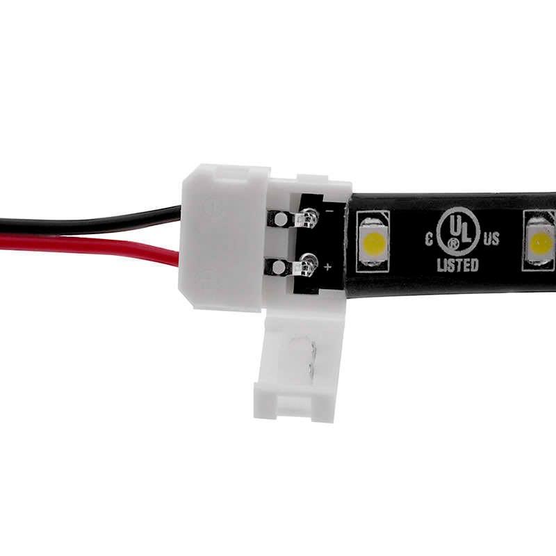 Cable de conexión directa para tira LED monocolor (2 Pin) 8mm
