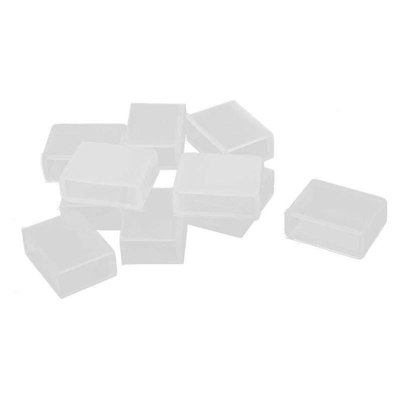10x Cover initiale IP68 pour bande LED monochrome 10mm