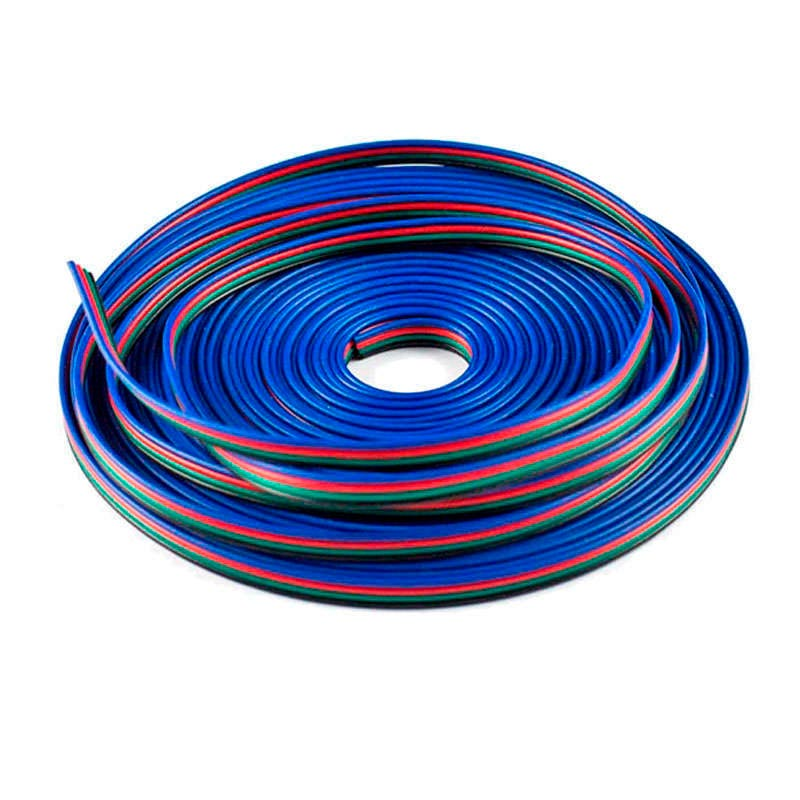 Connection cable for RGB LED strips 4x0,75mm, 1 metre