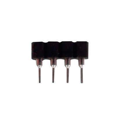 Unión / conector Macho a Hembra para tiras LED RGB  (4 Pin)