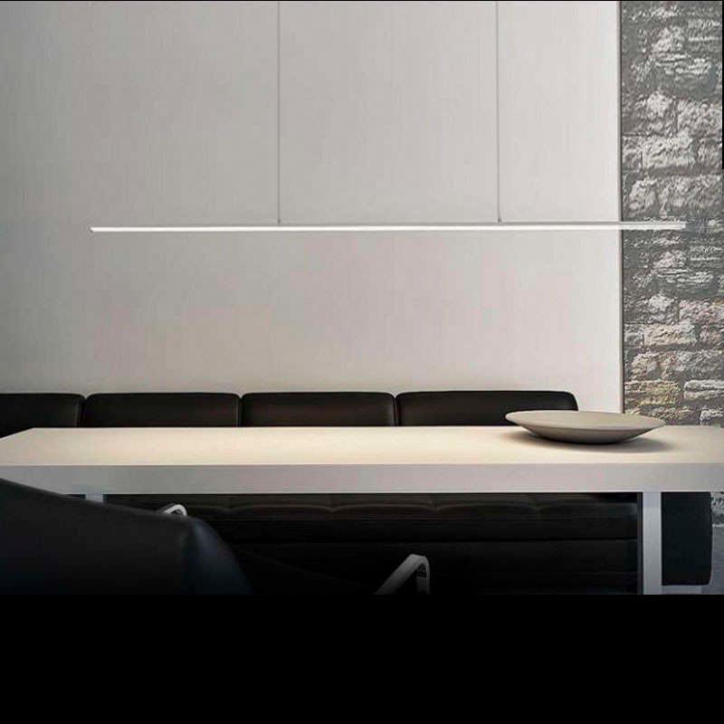 Perfil aluminio ALKAL SUSPEND para tiras LED, 2 metros