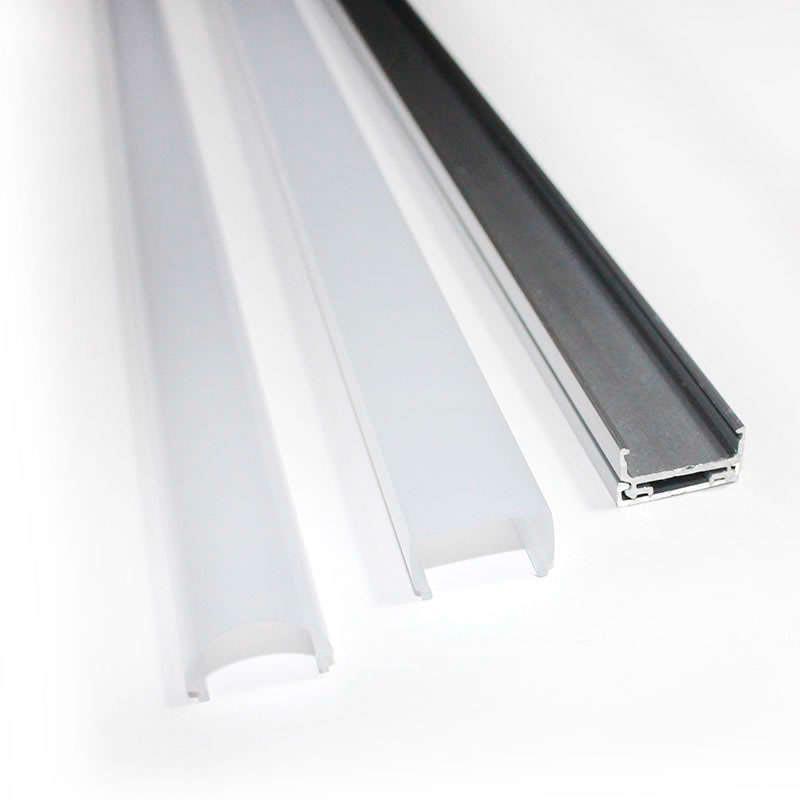 Cubierta blanco opal para perfil ALKAL SUSPEND, 1 metro