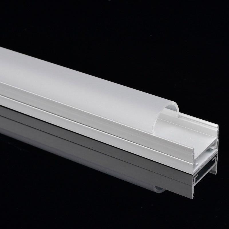 Perfil aluminio stuv para tiras led 1 metro tiras led for Perfiles de aluminio para toldos de palilleria