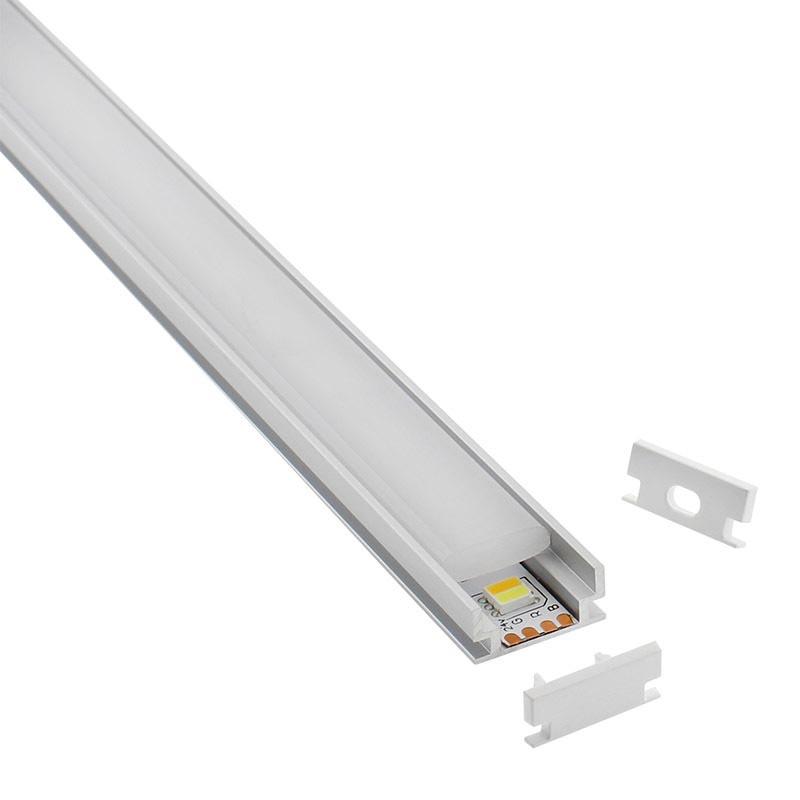 Perfil Hardy para tiras LED, 1 metro