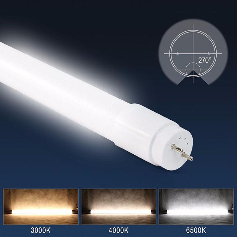 Tubo LED T8 SMD2835 Epistar Cristal - 18W - 120cm
