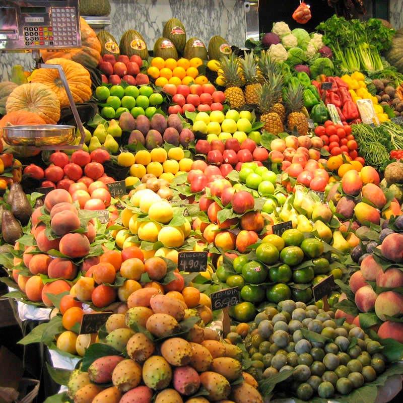 Tubo LED IP65, 22W, 150cm, Frutas y Verduras