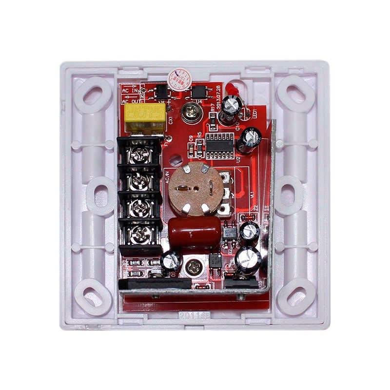 Regulador TRIAC Dimmer PWM + mando IR, 500W