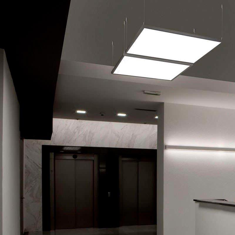 Panel LED 50W, 60x60 cm