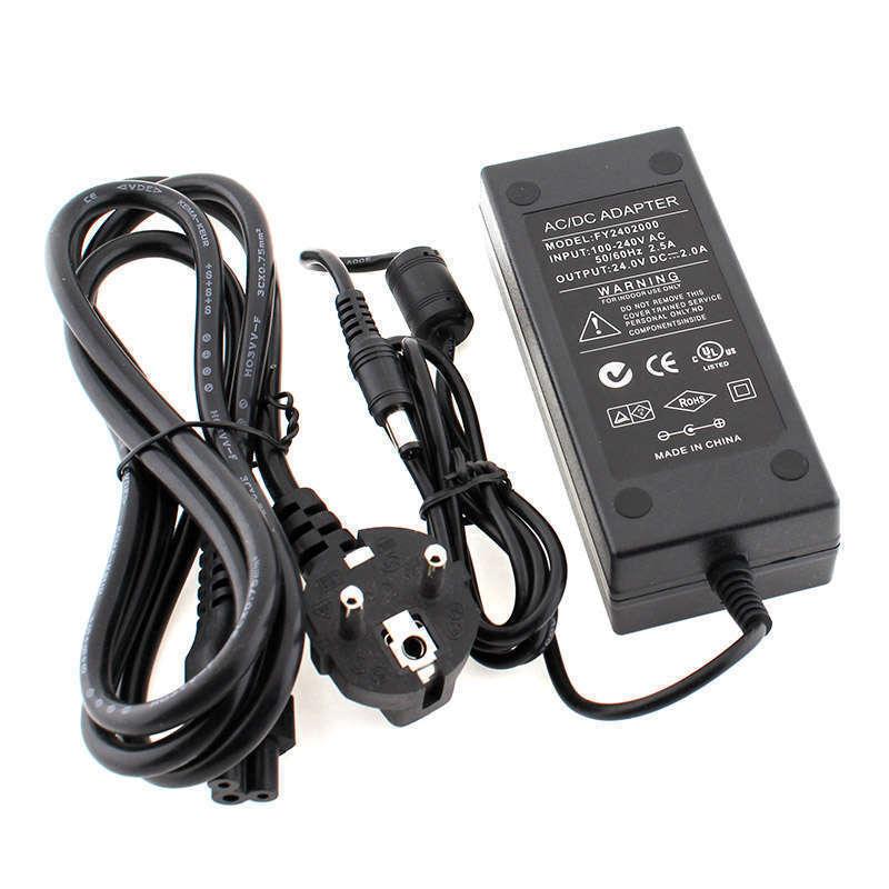 Adaptador de corriente para panel led 24VDC/48W/2A