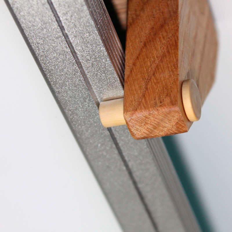 FUSTA CON Herrajes para panel 60x60cm