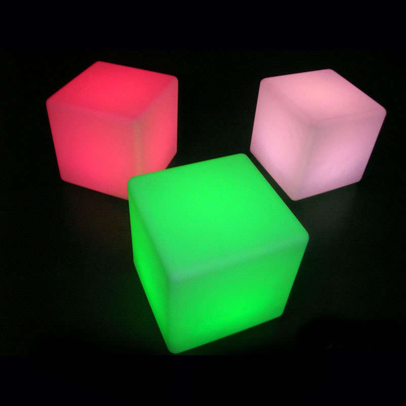 Cube lumineux led BIG KUB RGB