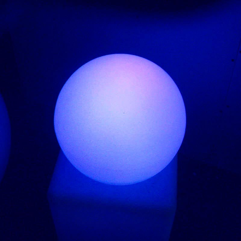 Led light sphere 30cm RGB rechargeable