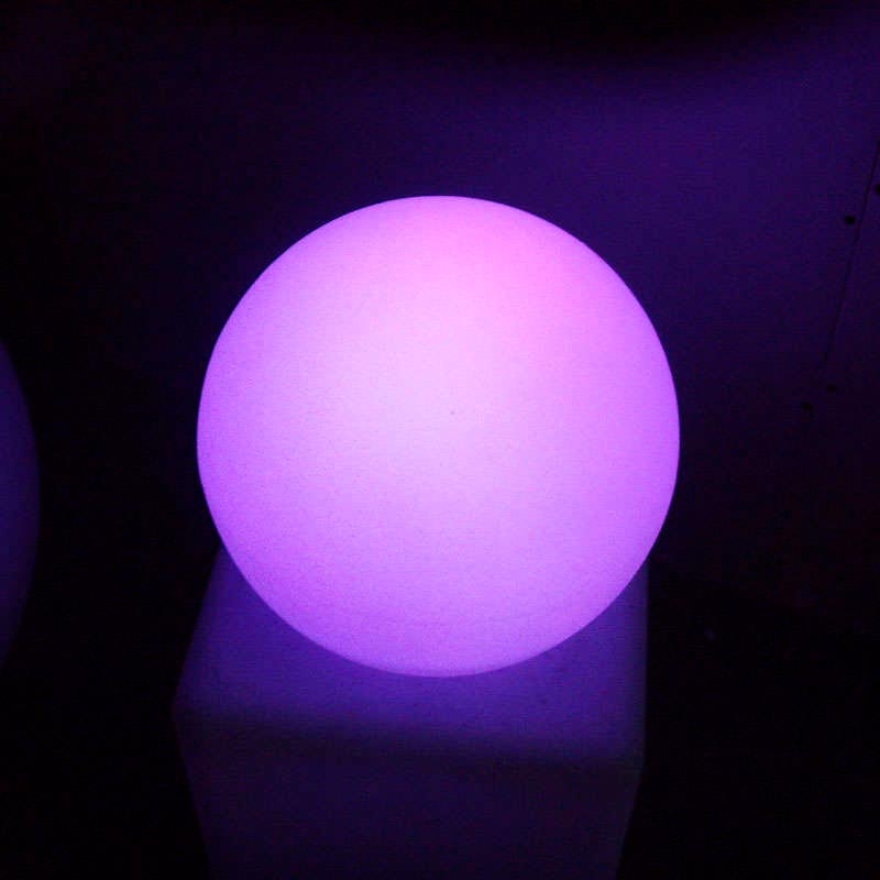 Led light sphere 40cm RGB rechargeable