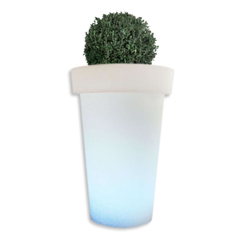 Pot fleurs lumineux GIANT Led RGB