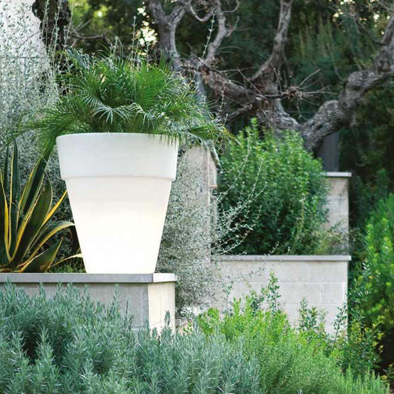 Pot fleurs lumineux BIG Led RGB