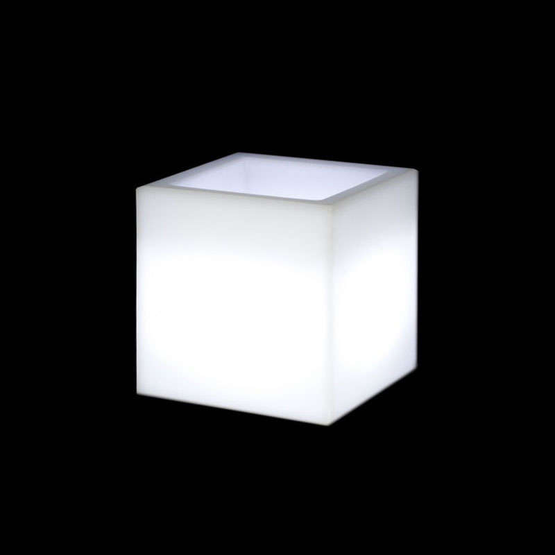 Led cube planter KANTIG