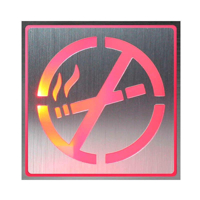 Signaled Prohibido fumar, 10x10