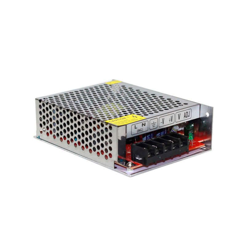 12V/80W/6A LED power source, indoor areas