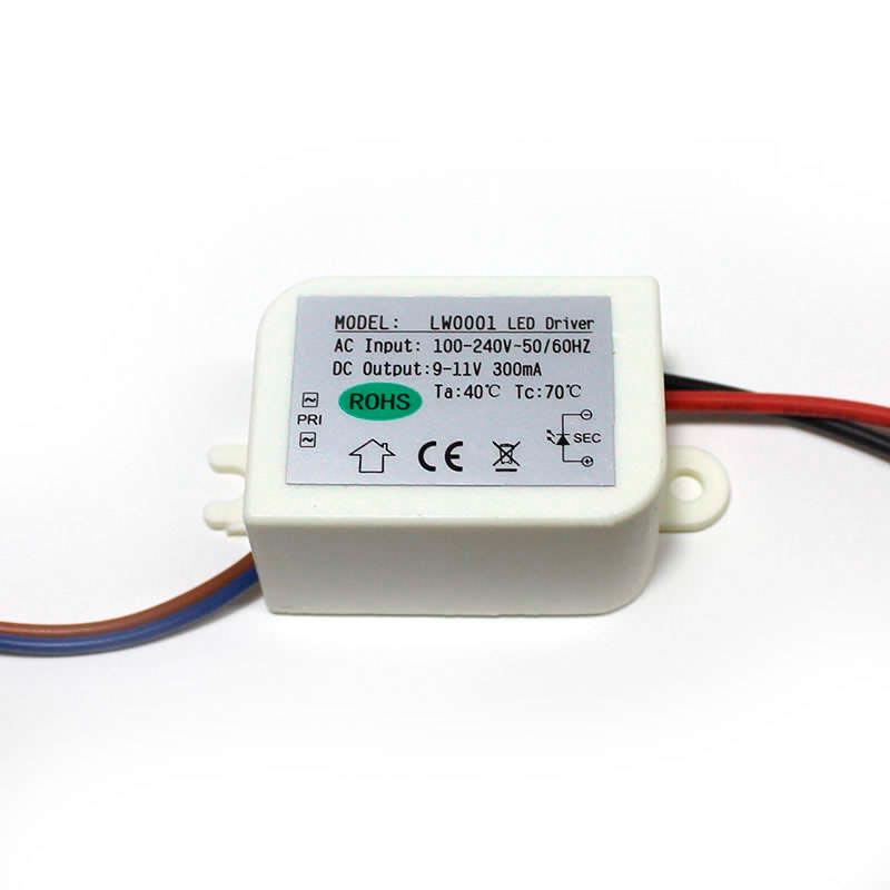 LED Driver DC9-11V/3x1W/300mA