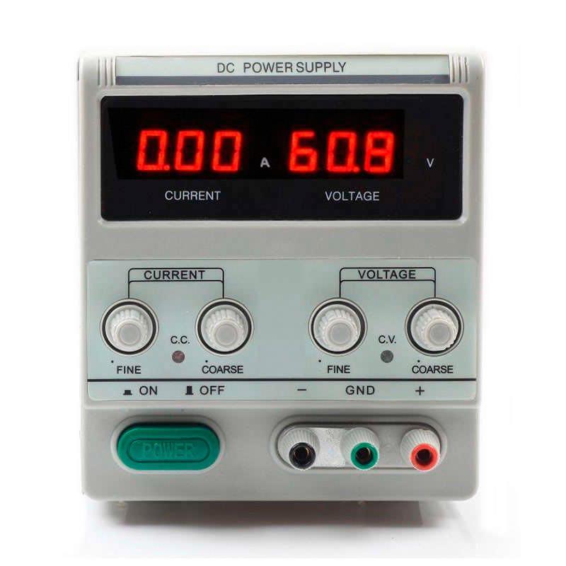 Fuente de alimentación DC60V/5A Regulable