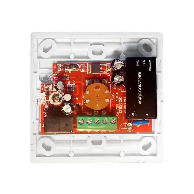 Regulador Dimmer LED 0/1-10V + mando IR, 800W